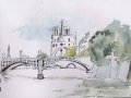 Stage aquarelle - Atelier 2-4 Paris - 114