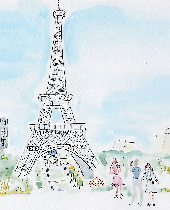 stage-carnet-de-voyage-atelier-2-4-paris-Tour Eiffel