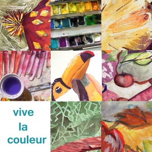 Stage aquarelle - Atelier 2/4 - Paris