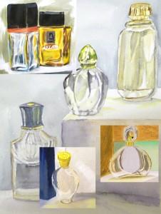 stage peinture dessin Atelier 2-4 Paris _ Francoise Dubourg-montage