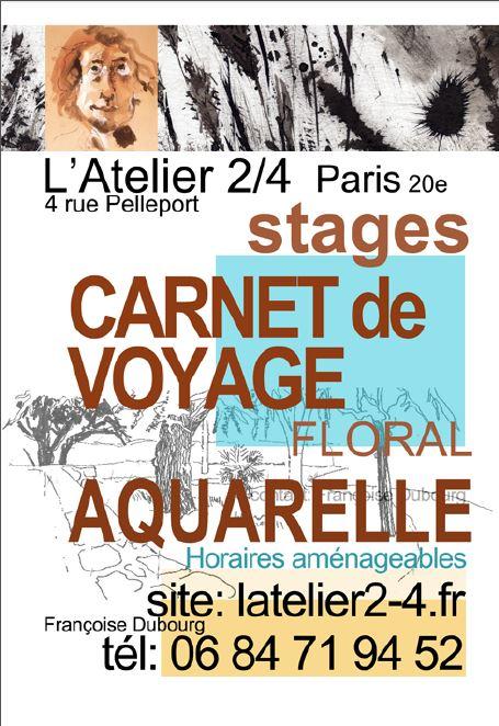 Stage carnet de voyage paris en octobre prochain 12 for Carnet de voyage paris