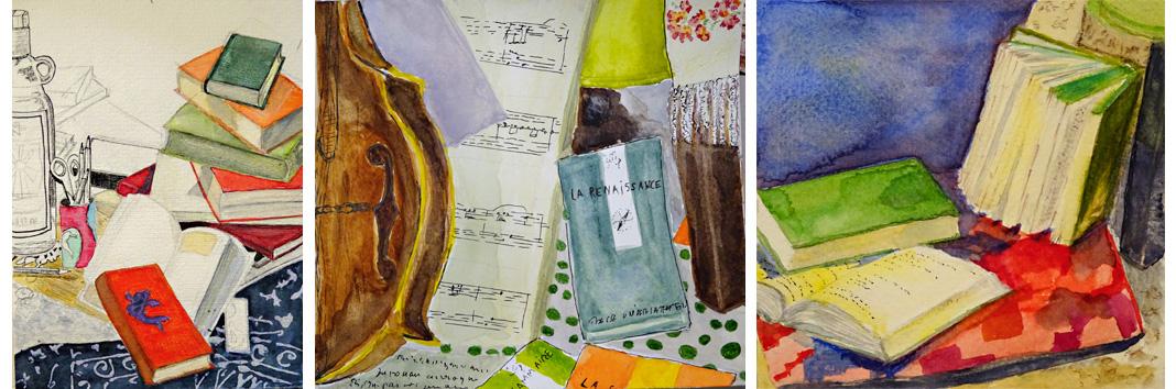 stage aquarelle paris - atelier 2-4 - Francoise Dubourg