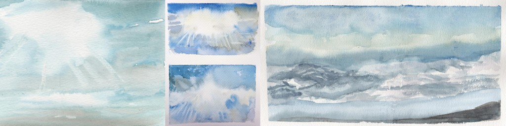 Stage ciel aquarelle 2-atelier 2-4 Paris