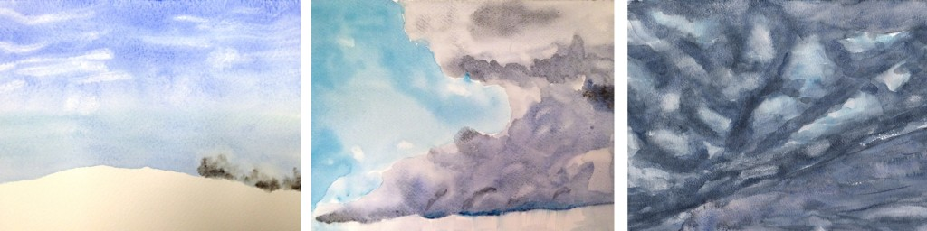 Stage ciel aquarelle 3-atelier 2-4 Paris