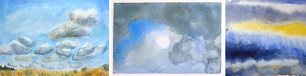 Stage ciel aquarelle 5-atelier 2-4 Paris
