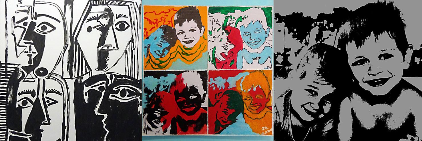 stage dessin peinture atelier 2-4 Paris Francoise Dubourg