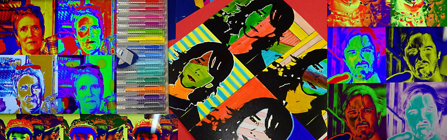 Stage dessin peinture Paris Andy Warhol