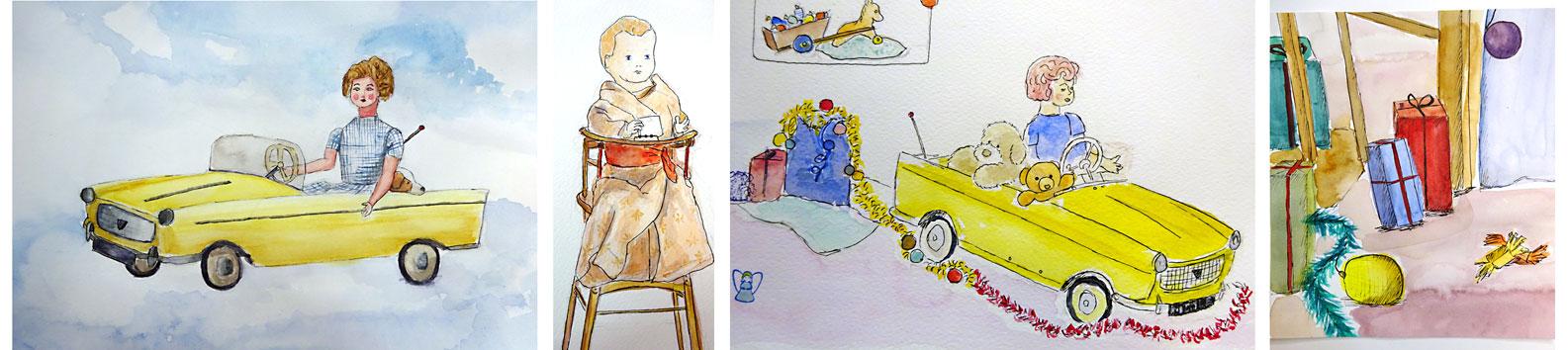 stage aquarelle atelier 2-4 paris