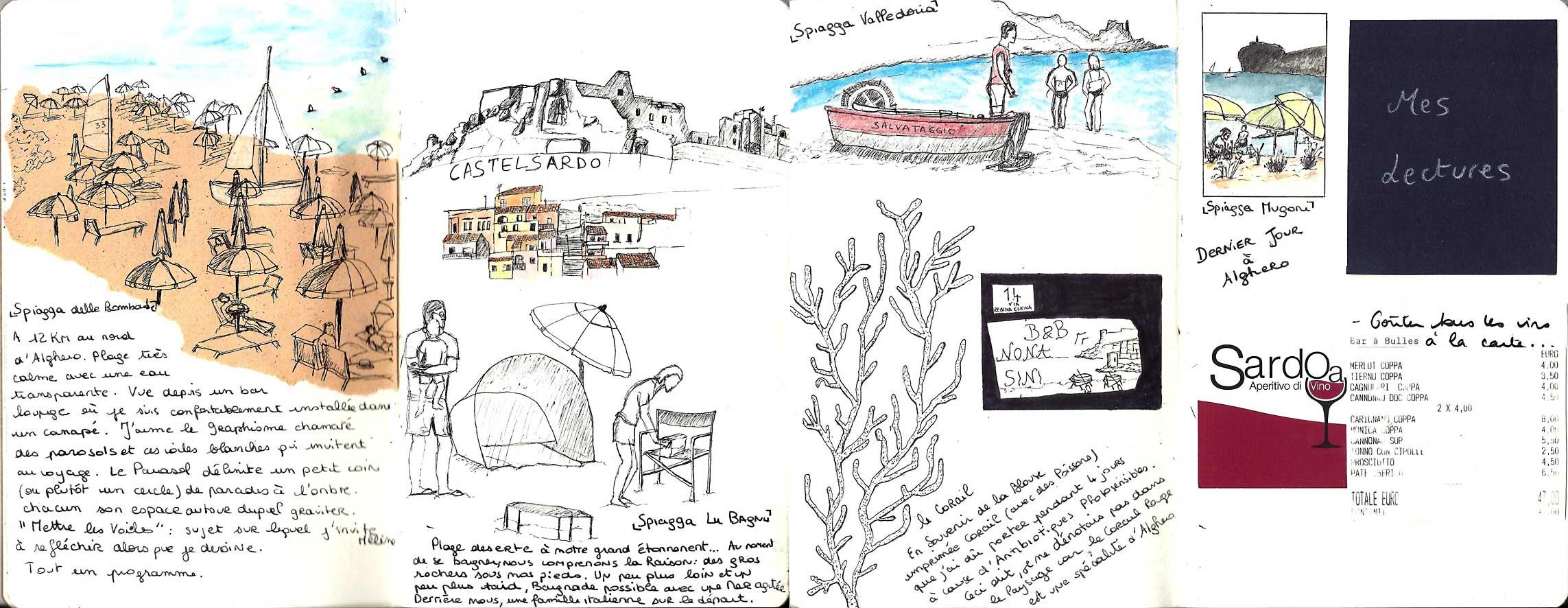 Amélie-Sous le soleil d'Alghero en Espagne